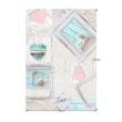 Szőnyeg, bézs/vintage minta, 120x180, SONIL