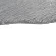 Műszőrme, szürke/ezüst, 60x90, FOX TYP 2