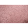 Párna, rózsaszín/arany-rózsaszín, 45x45, FOXA TYP 3