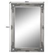 Tükör, ezüst keret, MALKIA TYP 7