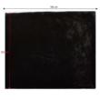 Szőrmés pléd, fekete, 150x180, RABITA NEW TYP 1