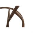 Függő fotel, barna/krém, KALEA NEW