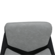 Irodai szék, szürke/fekete/króm, TANER NEW