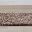Szőnyeg, világosbarna melír, 140x200, TOBY