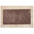 Szőnyeg, világosbarna melír, 80x150, TOBY
