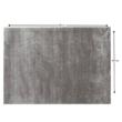Szőnyeg, világosszürke, 140x200, TIANNA