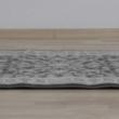 Szőnyeg, sötétszürke/minta, 133x190, AZIR