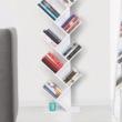 Könyvespolc, fehér, BAKI NEW TYP 2