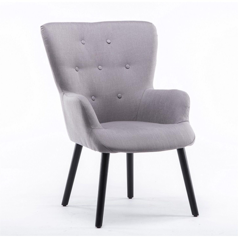 4b04cacf2f BRANDO Modern fotel , zöld szövettel - Fotel és ülőke