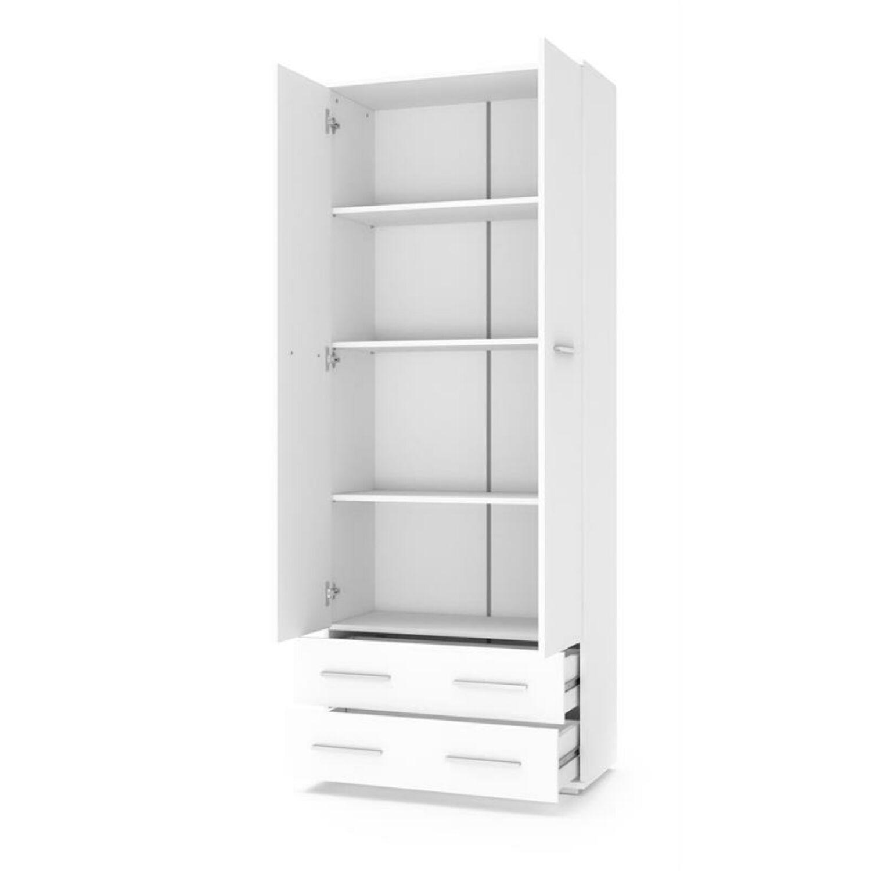 LIMA REG2 polcos szekrény fehér