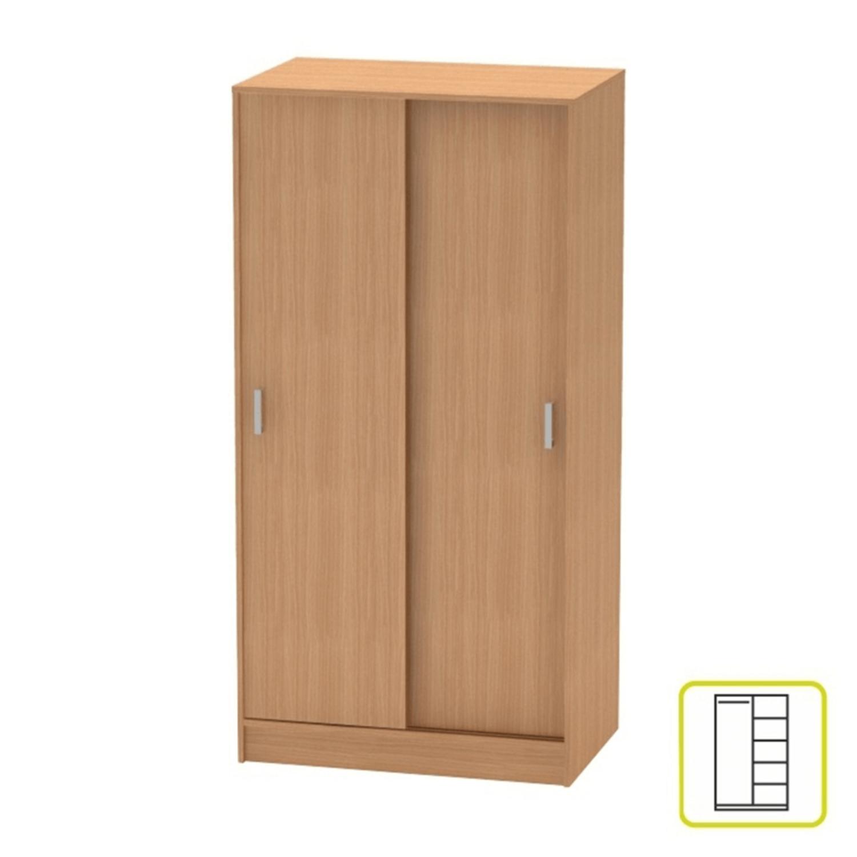 BETTY 4 BE04-002-00 2 ajtós szekrény tolóajtóval bükk