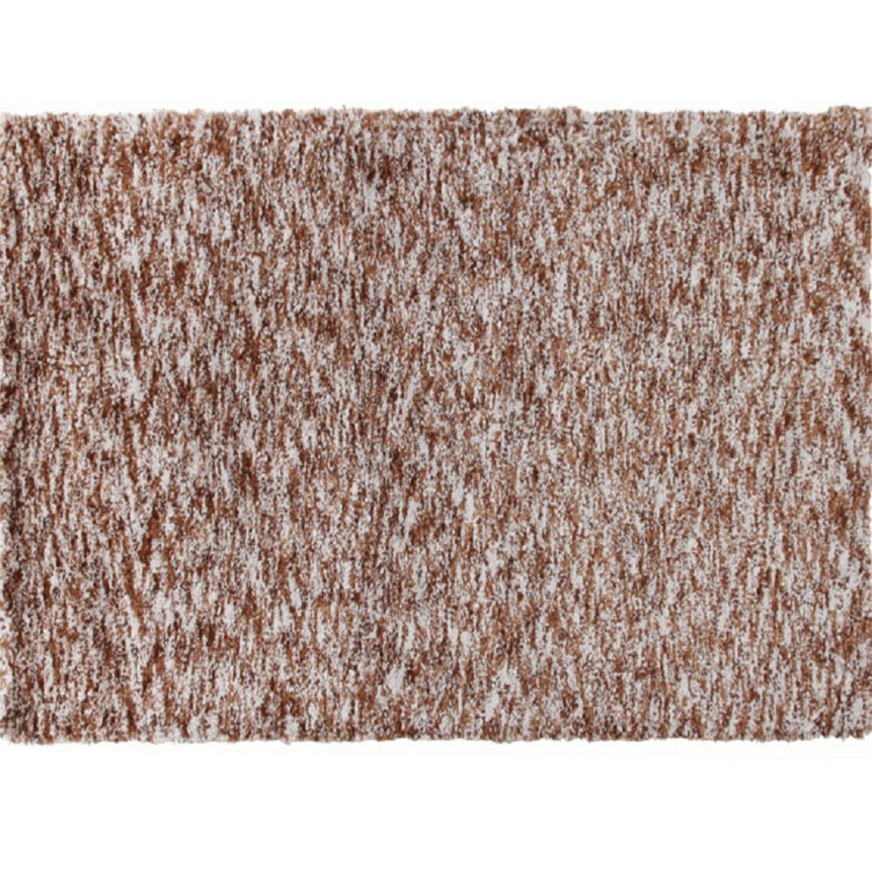 Szőnyeg világosbarna melír 80x150 TOBY