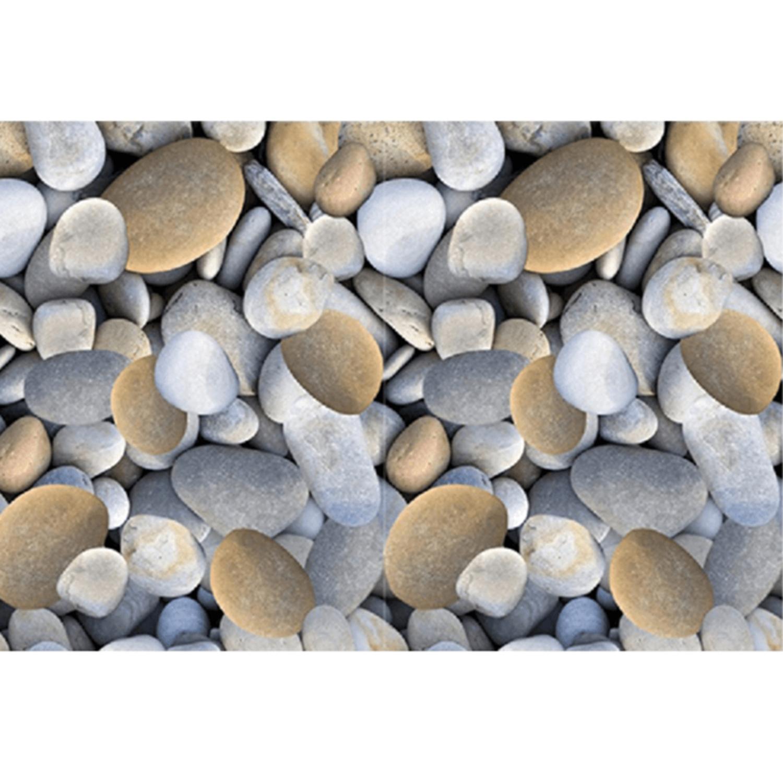 Szőnyeg színes minta kövek 80x200 BESS