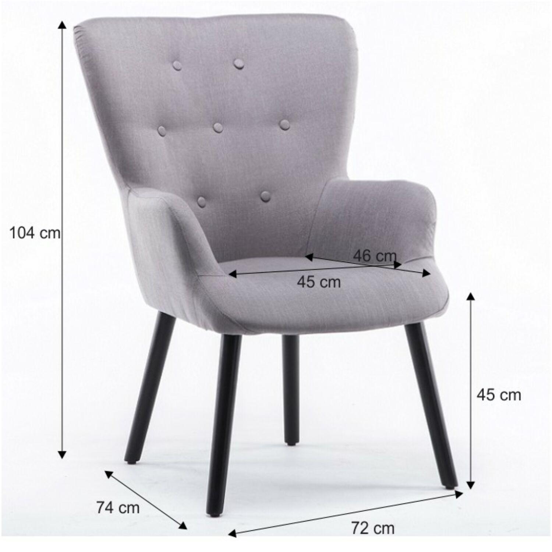 88778b1ef5 BRANDO Modern fotel , zöld szövettel - Fotel és ülőke