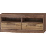 MAXIMUS 34 Tv szekrény craft tobaco/craft arany