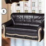 President 3-as kanapé szivacsos