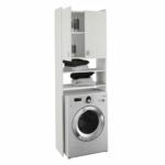 Praktikus szekrény - fehér,mosógép szekrény Natali
