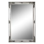Tükör ezüst színű fakerettel, MALKIA TYP 6