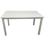Étkezőasztal 110, fehér, ASTRO NEW