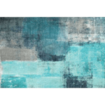 Szőnyeg, kék/szürke, 80x150, ESMARINA tip 2