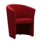 Fotel, piros, CUBA