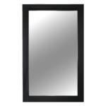 Tükör, fekete keret, MALKIA TYP 1