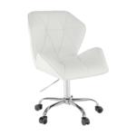 Irodai szék, fehér, TWIST