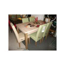 Tomy étkezőgarnitúra, 6db Tomy szék 120-as bővíthető Monica asztallal