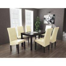 Berta étkezőgarnitúra 6+1 Divián (6db Berta szék + 1db 160-as Berta asztal)