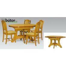 Dortmund elegance étkezőasztal bővíthető
