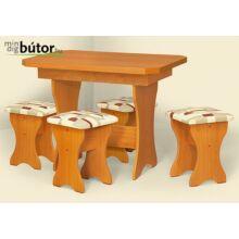 Masa Gera Style étkezőasztal bővíthető