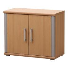 Alsó szekrény, bükkfa,ezüst, LISSI 04 TÍPUS