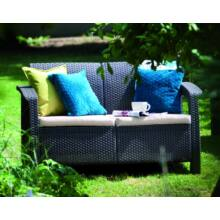 Curver Corfu love seat kerti kanapé