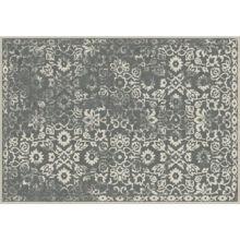 Szőnyeg, vintage, sötétszürke, 67x210, MORIA