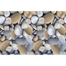 Szőnyeg, színes, minta kövek, 80x120, BESS