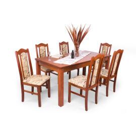 London-Berta étkezőgarnitúra (6db London szék  és  1db Berta asztal)