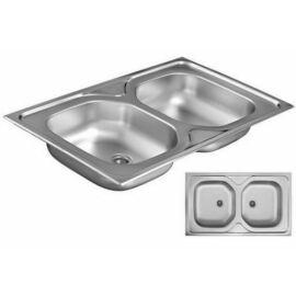 2 medencés mosogatótálca
