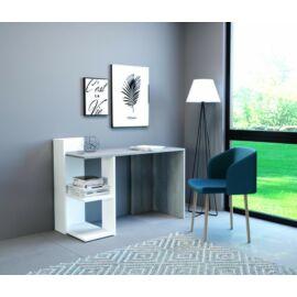 PACO íróasztal fehér-beton