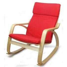 relax fotel ROCKER piros