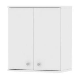 Fali szekrény 2 ajtós fehér GALENA SI08