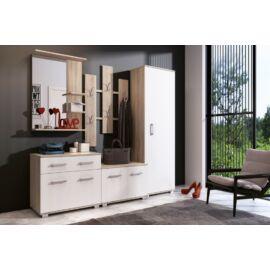LARA előszobabútor (Sonoma tölgy-fehér)