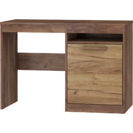 MAXIMUS 02 íróasztal craft arany/craft tobaco