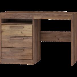 MAXIMUS 03 íróasztal craft arany/craft tobaco