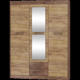 MAXIMUS 05 szekrény craft arany/craft tobaco