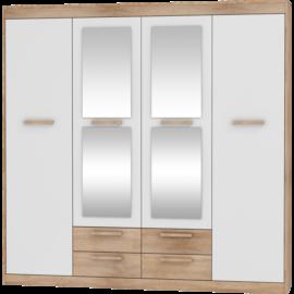 MAXIMUS 06 szekrény fényes fehér sonoma