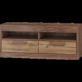 MAXIMUS 34 Tv szekrény craft tobaco craft arany