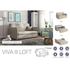 VIVA LOFT III. előre nyíló rugós kanapé
