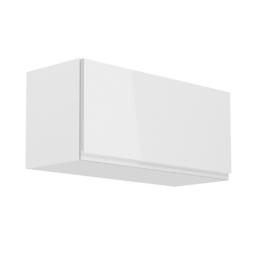 Felsőszekrény fehér fehér extra magasfényű AURORA G80K