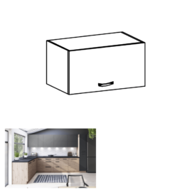 Felső szekrény artisan tölgy LANGEN G60KN