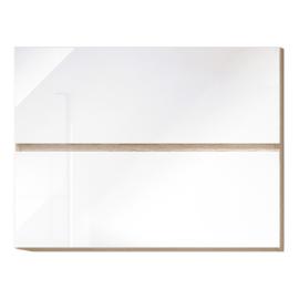 Felsőszekrény fehér magas fényű HG LINE BIELA G80